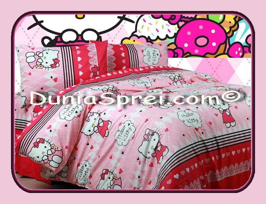 Kitty sweet love tosca dan pink